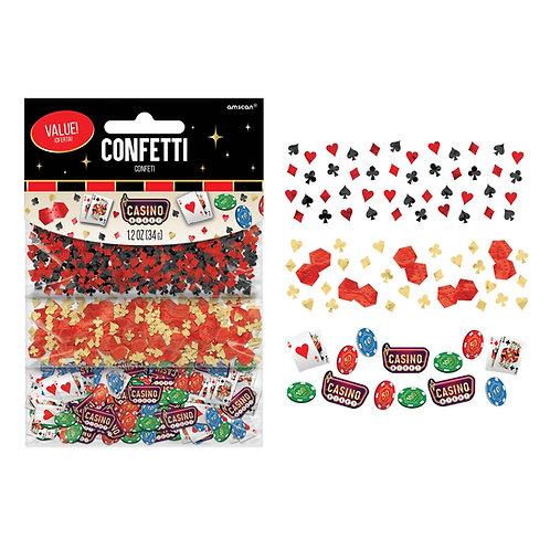 Casino Value Confetti