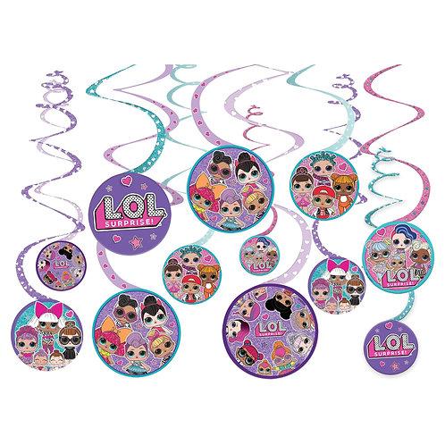 L.O.L. Surprise! Spiral Decorations