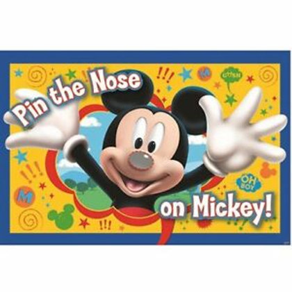 ©Disney Pin the Nose on Mickey! Party Game