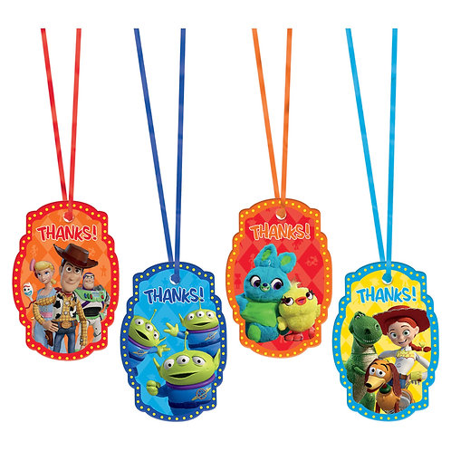 Toy Story 'Thank you' Tags