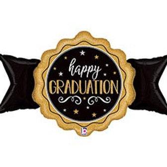 "39"" Happy Graduation Seal Balloon"