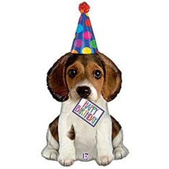"""41"""" HBD Puppy Balloon"""