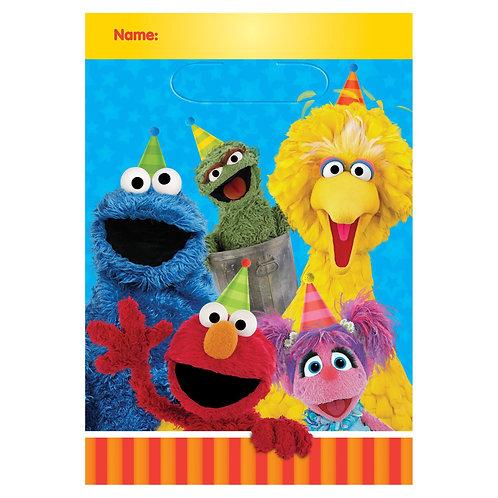 Sesame Street® Folded Loot Bags