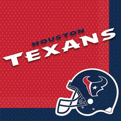 Houston Texans Lunch Napkins