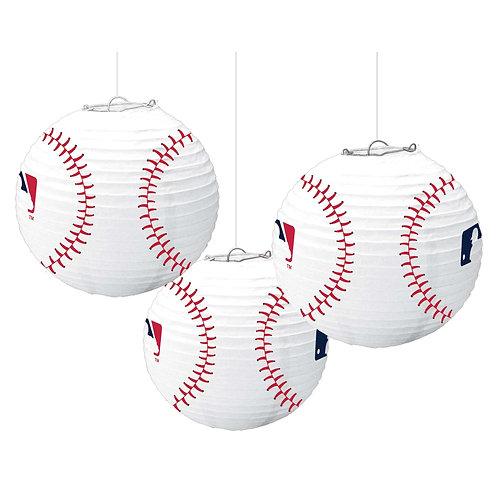 MLB Baseball Paper Lanterns