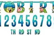 Spongebob Squarepants HBD Banner