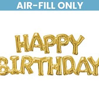 Happy Birthday (Air-Filled Balloon)