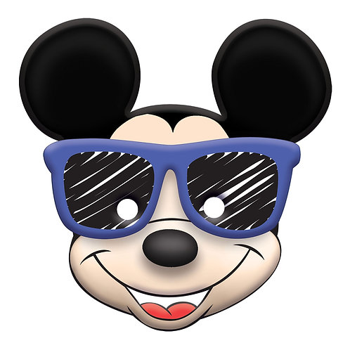 ©Disney Mickey on the Go Birthday Vac Form Mask