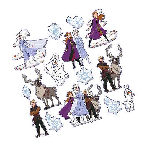 Frozen Puffy Stickers