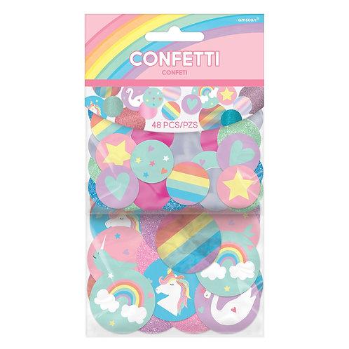 Magical Rainbow Birthday Giant Glitter Confetti