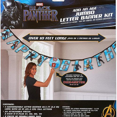 Black Panther HBD Banner