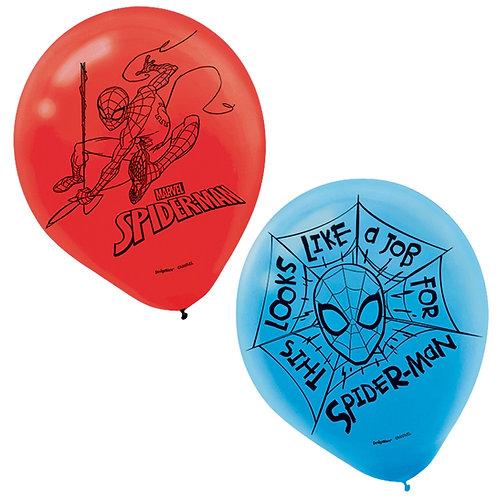 Spider-Man™ Webbed Wonder Latex Balloons