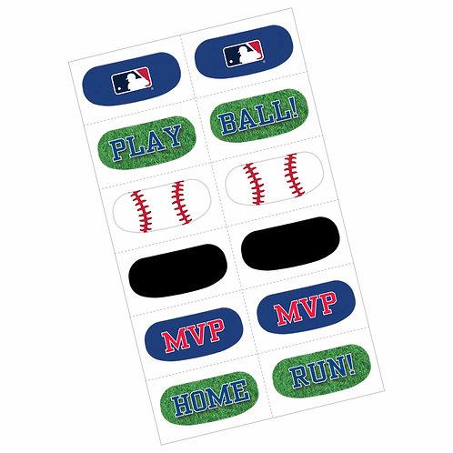 MLB Baseball Face Tattoos