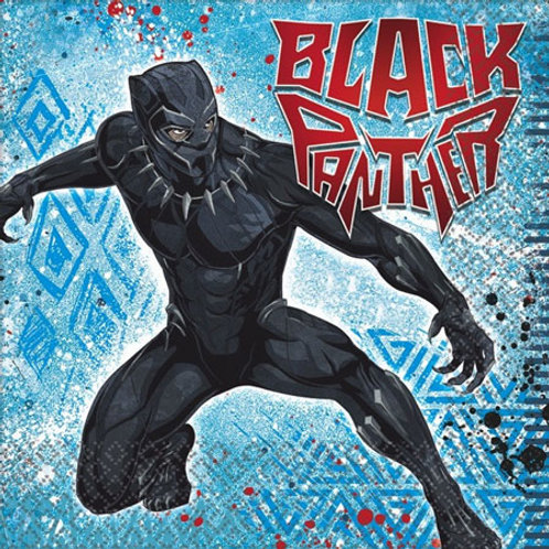 Black Panther Luncheon Napkins