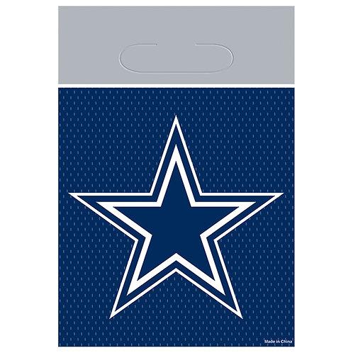 Dallas Cowboys Favor Bags