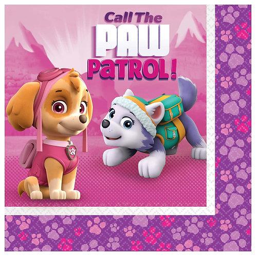 Paw Patrol™ Girl Luncheon Napkins