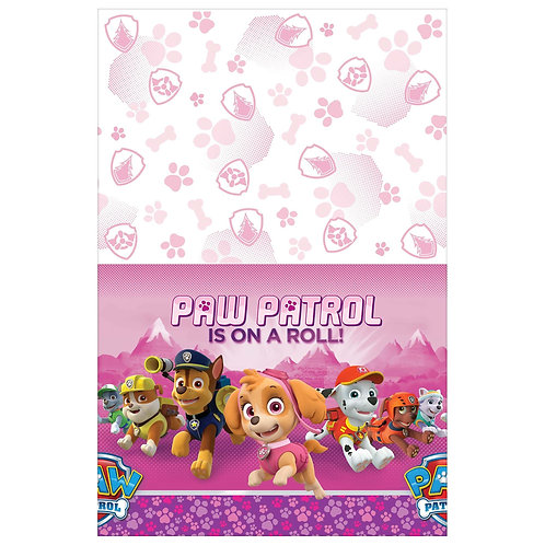 Paw Patrol™ Girl Plastic Table Cover