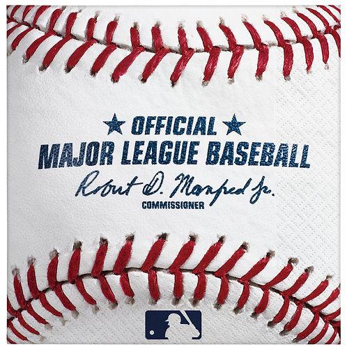 MLB Baseball Beverage Napkins