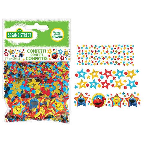 "Sesame Street® 9"" Value Confetti"