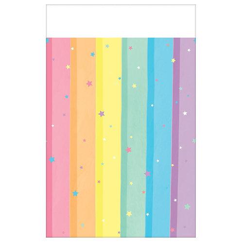 Magical Rainbow Unicorn Plastic Tablecover