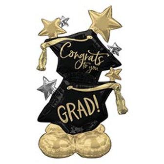 """51"""" 'Congrats to you Grad' Airloonz Balloon"""