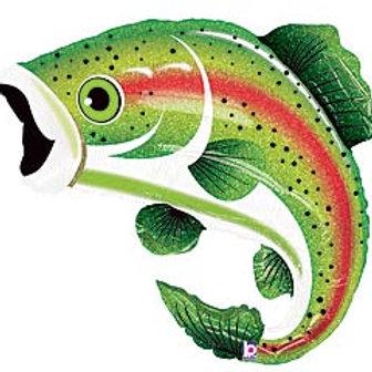 """29"""" Rainbow Trout Fish Balloon"""