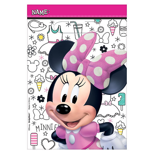 ©Disney Minnie Mouse Happy Helpers Folded Loot Bags