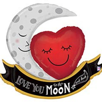 42' 'Love you to the Moon and Back' Balloon
