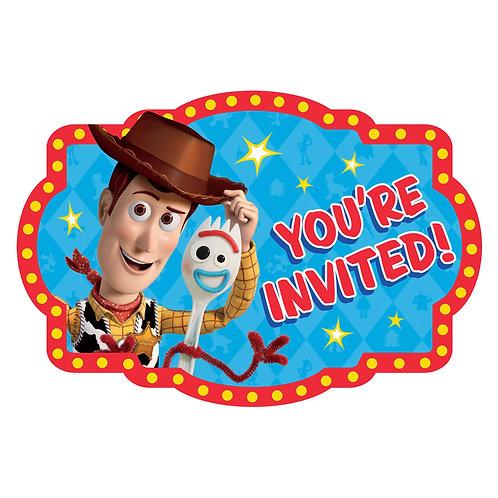 Toy Story Postcard Invitations