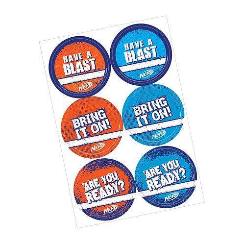 Nerf® Stickers