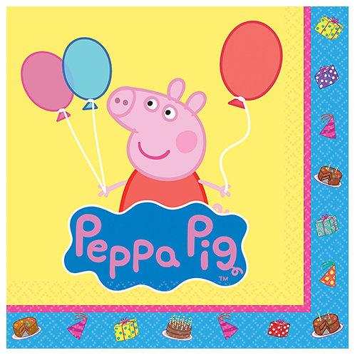 Peppa Pig™ Beverage Napkins