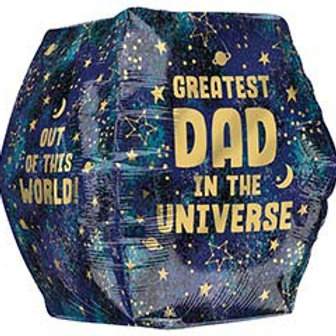 """16"""" Greatest Dad in the Universe Anglez Balloon"""
