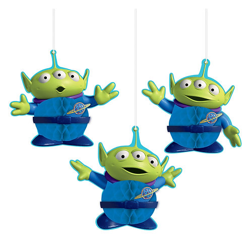 Toy Story Honeycomb Decorations