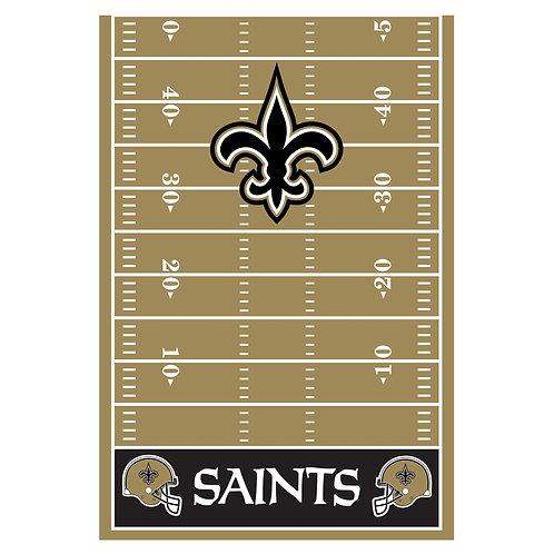 New Orleans Saints Plastic Table Cover