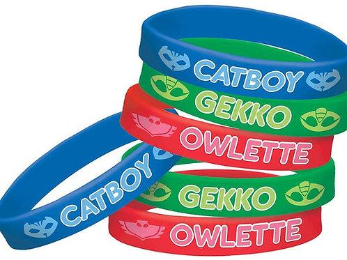 PJ Masks Bracelets, 6ct.