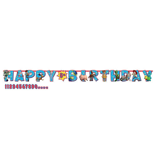 Toy Story HBD Banner Kit