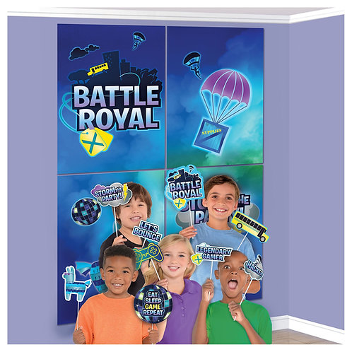 Battle Royal Scene Setter W/Props