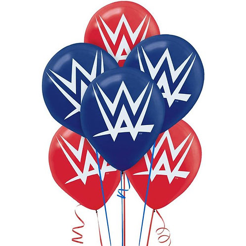 "WWE Wrestling 12"" Latex Balloons"