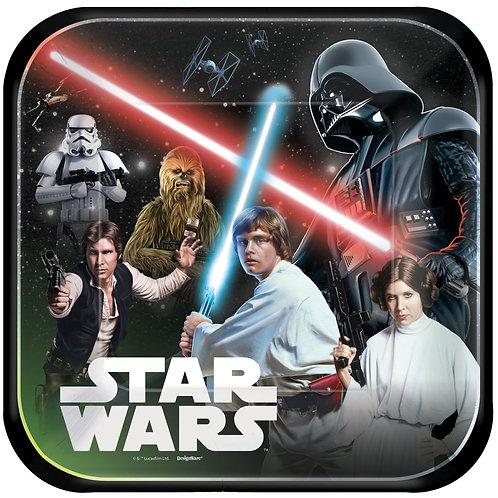Star Wars™ Classic Square Plates