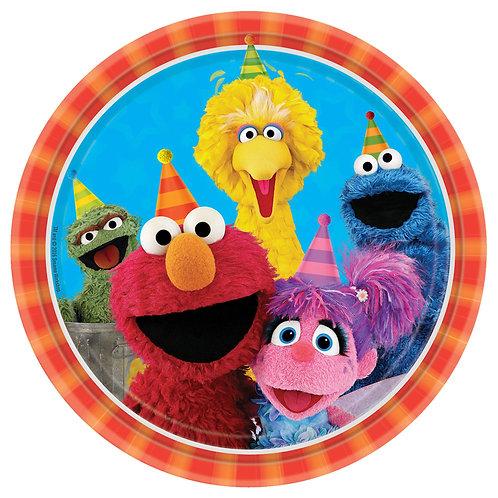 "Sesame Street® 9"" Round Plates"