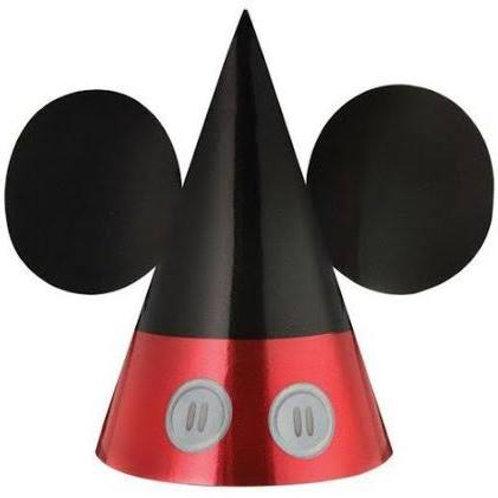 Disney Micky Foil Cone Hats