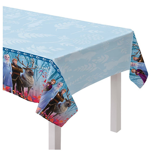Frozen Plastic Table Covers