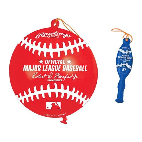 MLB Baseball Punch Balloons