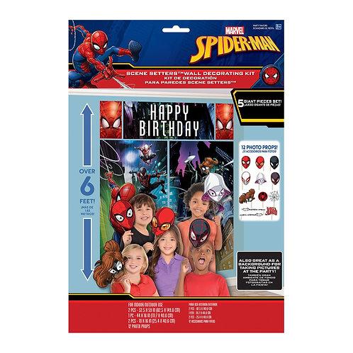 Spider-Man™ Webbed Wonder Scene Setters® with Props