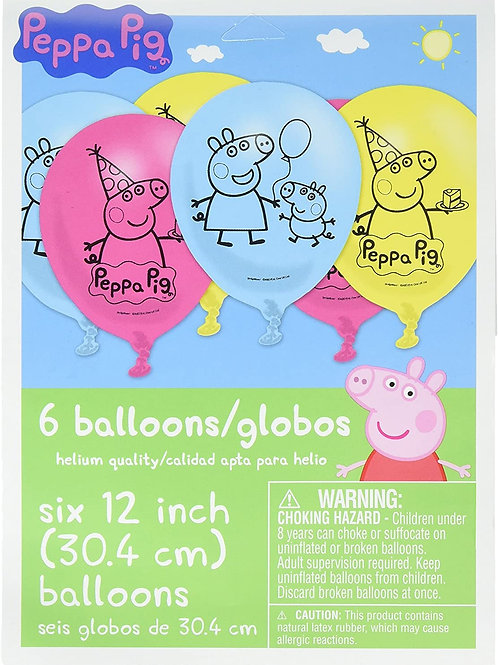 "Peppa Pig™ 12"" Latex Balloons"