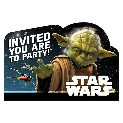 Star Wars™ Classic Postcard Invitations