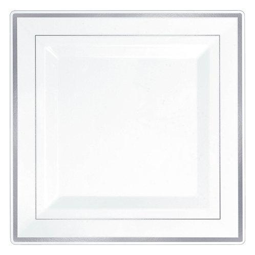 Premium White Square Plates