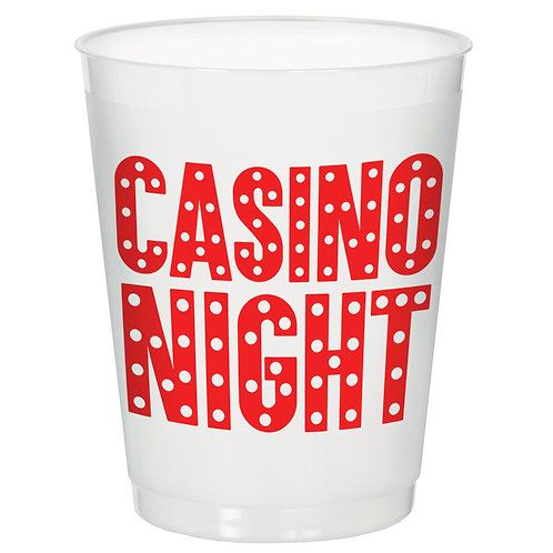 Casino Frosted Stadium Cup