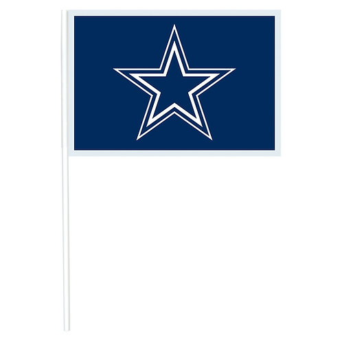 Dallas Cowboys Plastic Flags