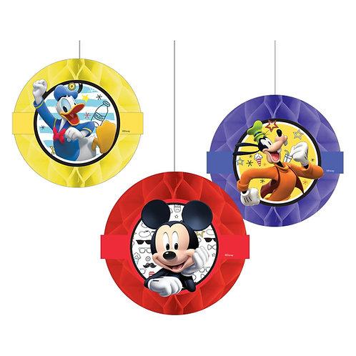 ©Disney Mickey on the Go Honeycomb Decoration